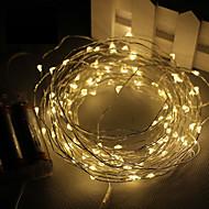 3m 30led 3aa 4.5V batteridrevet vandtæt dekoration førte kobbertråd lys streng til jul festival bryllupsfest