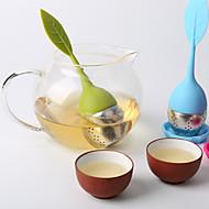 Criador de chá de silicone de aço inoxidável criativo