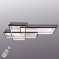 Luz de teto led moderna montagem de parede pintura alumilium de luz de parede com regulador remoto para quarto de sala de estar