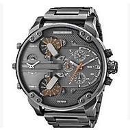 Pánské Vojenské hodinky Hodinky k šatům Módní hodinky Náramkové hodinky čínština Křemenný Kalendář Hodinky s dvojitým časem Punk Velký