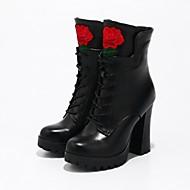 נשים מגפיים הליכה מגפי רכיבה מגפיים אופנתיים מגפי אופנוענים נעליים פורמלית נוחות חדשני גלדיאטור קאובוי/מגפיים מערבייםעור אמיתי חומרים