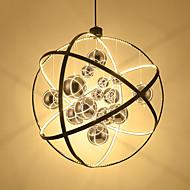 Nordic kattokruunu yhden pään luova olohuone ravintola valo kahvila etupalkki duplex lasi lamppu kattokruunu