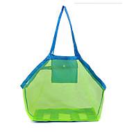 1pç Bolsa de Viagem Exterior para Exterior Rede-Verde Azul