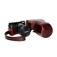 כיסוי תיק מקרה מצלמה להסרה עור dengpin pu עם רצועת כתף לM3 EOS EOS-M3 הקנון (צבעים שונים)