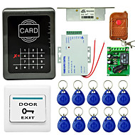 Mjpt001 einzigen Tür Zugangskontrolle System Paket Karte Passwort mit einer Fernbedienung Karte Zugangskontrolle System-ID-Karte 125khz