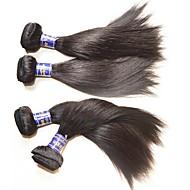 Hurtowa najwyższej jakości peruwiański jedwab proste wiązki włosów 6szt 600g dużo na dwie głowice zainstalowane 100% prawdziwe oryginalne