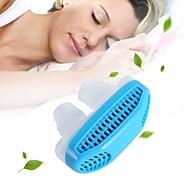1pcs睡眠援助のいびき止め鼻の粉砕空気清浄フィルター空気清浄装置ヘルスケアカラーランダム