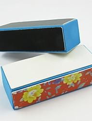 4 seitigen Schleifpufferblock Raspelwerkzeuge Nagelfeile Buff Polieren und Glanz