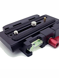 hy-200 quick release plated voor Manfrotto 577, 500, 701