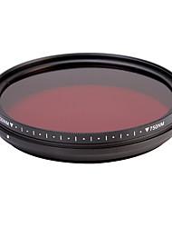 fotga® all-in-one nastavitelný 530nm-750 nm infračervený ir průchod x-ray filtr objektivu 62mm