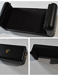 tripé liga de alumínio com 1/4 '' parafuso + braçadeira ipad + braçadeira de telefone para a câmera ou telefone e de webcam pc