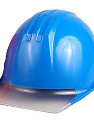 capacete de segurança com proteção de cabeça para trabalhos em tensão (azul)