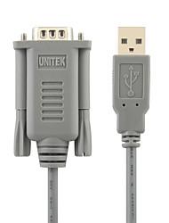 UNITEK USB 2.0 és RS232 nagysebességű vezeték 1.5m