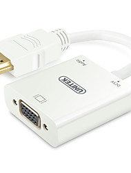 UNITEK HDMI VGA (férfi-nő) átalakító kábel