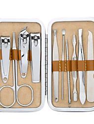12-in-1 de aço inoxidável manicure cuidados com as unhas portátil&kit pedicure com cortador de unhas e sobrancelhas e ferramentas de
