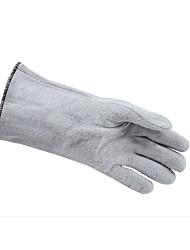 Ansel / ansell33cm luvas resistentes a altas temperaturas revestidas com nitrilo / vício