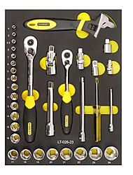 Stanley 6 tubo de canto 34 peças conjunto de ferramentas lt-026-23 12,5 mm série 10 mm série