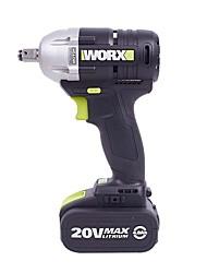 Wacker chave de impacto recarregável de 20 volts sem escova de lítio