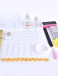 Boîte à outils à l'époxy en cristal à base de crabe Kingdom® diy, auto-assemblage type simple