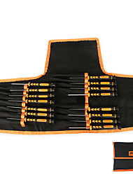 Ensemble de talus de précision 15 en 1 pourfusadeira torx / pentalobe / slotted / phillips kit de réparation pour téléphone portable