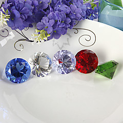 centerpieces kristalli timantti pöytä deocrations