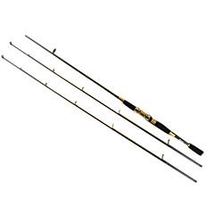 Vara de Pesca Rotativa / Cana de pesca Vara de Pesca Rotativa Carbono 210 M Rotação Haste Preto