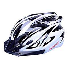 FJQXZ Mulheres Homens Unisexo Moto Capacete 18 Aberturas Ciclismo Ciclismo de Estrada Ciclismo M: 55-59 cm L: 59-63 cm PC EPS