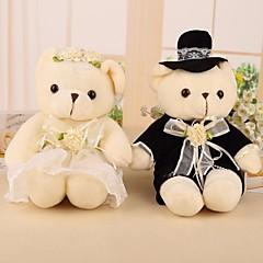 Noiva Noivo Dama de Honor Padrinho do Noivo Menina das Flores Portador do Anél Casal Pais Prenda Criativa Casamento
