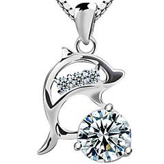 925 sterling sølv delfin kjede