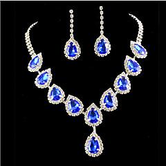 Žene Komplet nakita Moda Šarene kostim nakit Imitacija dijamanta Füllbevalók Ogrlica Za Party Special Occasion Rođendan Angažman