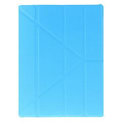 caso cor origami sólida clássico para ipad 2/3/4