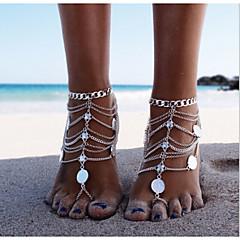 Žene Kratka čarapa/Narukvice Legura Jedinstven dizajn Moda Više slojeva Europska Personalized Bikini kostim nakit Jewelry Jewelry Za