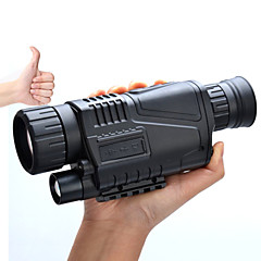 5-8X40 mm Tek Gözlü Dürbün Gece Görüş Gözlüğü Askeri Gece görüşü Askeri Genel Kullanım Avlanma BAK4 Powłoka pełna wielowarstwowa 5*3.75