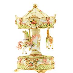 abs rose créative boîte de musique romantique pour le cadeau