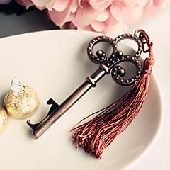 Sølv / Chokolade Flaske Favor Krom FlaskeåbnereStrand Tema / Have Tema / Asiatisk Tema / Blomster Tema / Sommerfugl Tema / Klassisk Tema