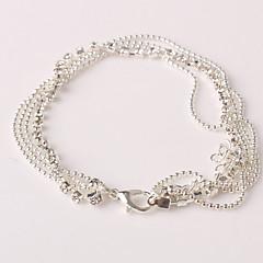 Žene Kratka čarapa/Narukvice Umjetno drago kamenje Imitacija dijamanta Legura Jedinstven dizajn Moda Više slojeva kostim nakit Jewelry