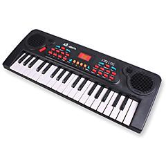 elektronické varhany náhodný plast červená / černá / bílá hudební hračka pro děti