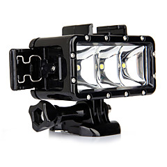 Spot luminos LED Furtun Waterpro Încorporat FLASH PentruGoPro 5 Gopro 3 Gopro 2 Gopro 3+ Gopro 1 Sport DV SJ4000 SJ5000 SJ6000 SJCAM
