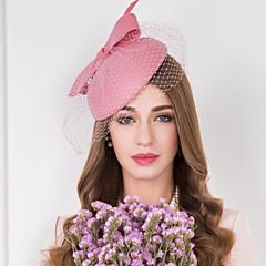 Ženy Tyl Vlna Síť Přílba-Svatba Zvláštní příležitost Neformální Ozdoby do vlasů Klobouky Jeden díl