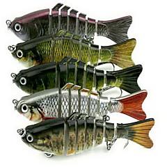 1 штук Жесткая наживка Рыболовная приманка Жесткая наживка г/Унция мм дюймовый,Жесткие пластиковыеМорское рыболовство Пресноводная