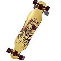Standard-Skateboards Weiß Blau