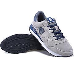 נעלי ספורט נעלי טיולי הרים נעלי יומיום בגדי ריקוד גברים נגד החלקה Anti-Shake אוורור לביש נושם עמיד בפני שחיקה עור אמיתי רשת נושמת ריצה