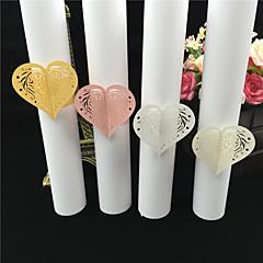Perlový papír Svatební Ubrousky Piece / Set Kroužky na ubrousky