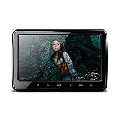 10,1 дюймовый 1024 * 600 hd цифровой tft экран ультратонкий дизайн сенсорный экран автомобильный подголовник dvd-плеер с usb / sd / fm /