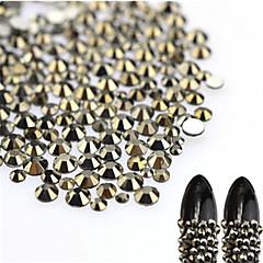 About 500pcs/bag Nail Art Decoration tekojalokivi Pearls meikki Kosmeettiset Nail Art Design