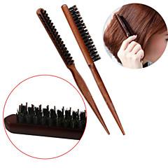 Børste og kam Kan brukes på vått og tørt hår Gir volum Lettvekt Antistatisk Normal
