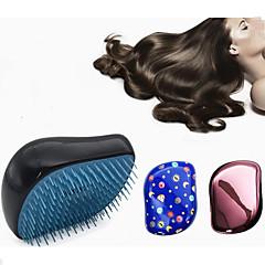 Børste og kam Kan brukes på vått og tørt hår For glattere hår Minsker krusing Massasje Lettvekt Antistatisk Normal
