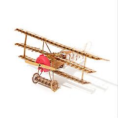 Puzzles 3D - Puzzle Bausteine Spielzeug zum Selbermachen Flugzeug 1 Metall Model & Building Toy