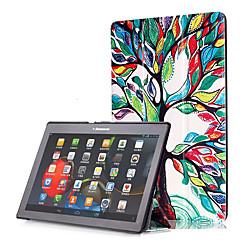 Pu case cover für lenovo tab2 tab 2 a10-30 a10-70 tb3-x70f mit Displayschutzfolie