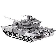 Quebra-cabeças Quebra-Cabeças 3D Blocos de construção Brinquedos Faça Você Mesmo Tanque Metal Modelo e Blocos de Construção